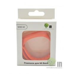 Ремешок силиконовый для Mi Band 3/4 INNOVATION оранжевый