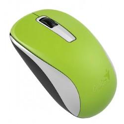 Мышь беспроводная Genius NX-7005 оптическая, 1200dpi, радиус действия до 10м, Green