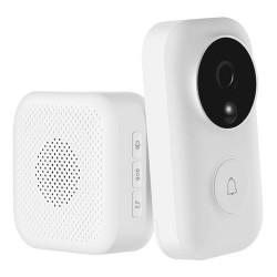 Умный дверной видео-звонок Xiaomi Smart Video Doorbell (FJ02MLWJ) (белый)
