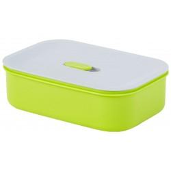 Контейнер Bekker BK-5142 550мл, пищевой,14,6*14,6*,6 см, квадрат., крышка с силикон,для микр.печей и мороз.камер,пластик