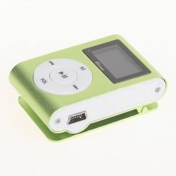 MP3 плеер ELTRONIC с (дисплеем,MicroSD до 16 Гб ,20-20000 Гц,90 мАч,наушники,зеленый)
