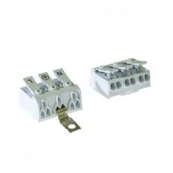 Клеммник DG238-10.0-03P-19-05A(H) /нажимной/3pin, шаг 10мм, 20А, 0,75-2,5 (22-12 AWG) мм2
