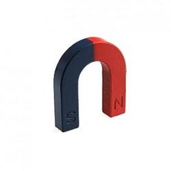 Магнит U-образный, 48*42*11*8мм, красный/синий
