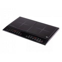 Плита настольная OLTO HP-201I Black 2000Вт, конфорок-2, упр. сенсор., индукция