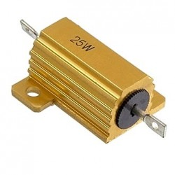 Резистор RX24 25Вт 27ом 5% с радиатором