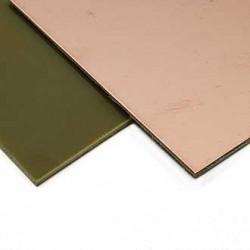 Текстолит односторонний 70х170х1.5мм/FR4