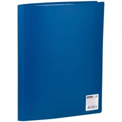 Папка с 30 вкл. OfficeSpace 21мм, 400мкм. синяя (F30L2 286)