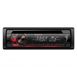 Автомагнитола Pioneer DEH-S120UB 1DIN, 4x50Вт, MP3, CD, FM, USB, AUX, съемная панель