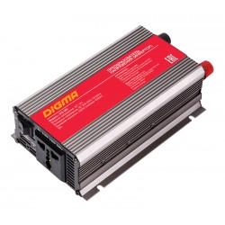 Автоинвертор Digma DCI-500 500Вт, 12В, от АКБ, порт USB