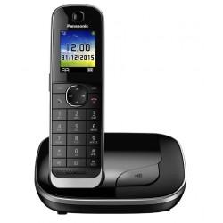 Радиотелефон Panasonic KX-TGJ310 RUB,черный 1трубка/50м/300м/АОН/книга 250номеров/спикерфон/-/15-250ч/Радио-няня
