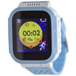"Смарт-часы GEOZON Classic Blue 1.44""/IP67/And,iOS/GPS/0.1Мп/350mAh"