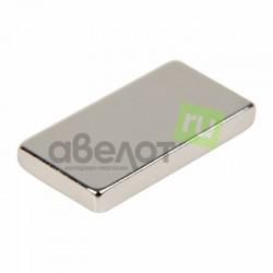 Неодимовый магнит прямоугольник 15х8х2мм сцепление 1,1 кг (упаковка 8 шт) Rexant