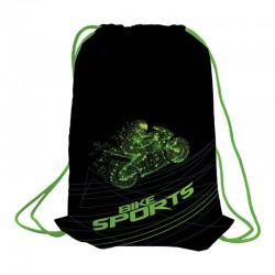 """Мешок для обуви 1 отделение, Berlingo """"Bike sports"""" MS09225"""