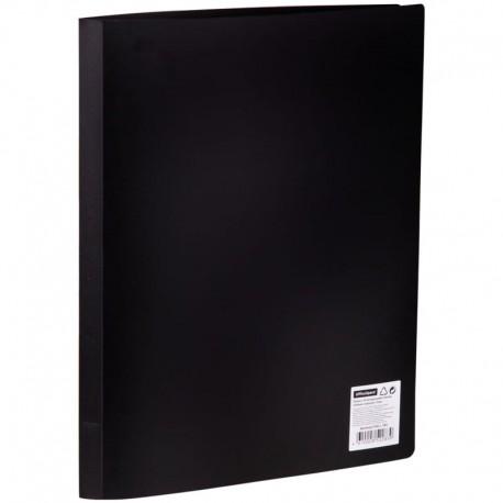 Папка с 20 вкл. OfficeSpace 17мм, 400мкм. черная (F20L1 283)
