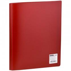 Папка с 30 вкл. OfficeSpace 21мм. 400мкм. красная (F30L3 284)