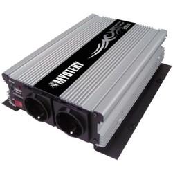 Автоинвертор Mystery MAC-800 800Вт, 12В, крокодилы, порт USB