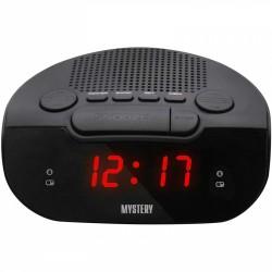 Радиобудильник Mystery MCR-21 Black/red 24ч. формат, таймер, будильник, FM