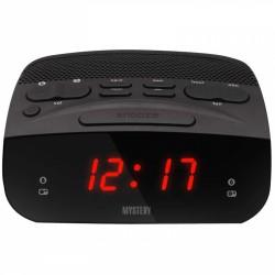 Радиобудильник Mystery MCR-23 Black/red 24ч. формат, таймер, будильник, FM
