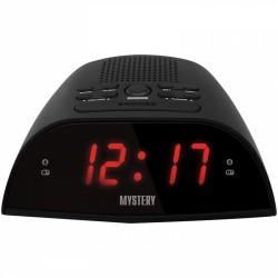 Радиобудильник Mystery MCR-48 Black/red 24ч. формат, таймер, будильник, FM