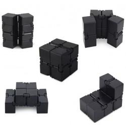 Игрушка-антистресс INFINITY CUBE Металлическая Черная