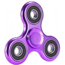 Спиннер COLOR SPIN, 3 лепестка, металл, Фиолетовый