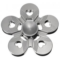 Спиннер, 5 лепестков, металл, серебряный