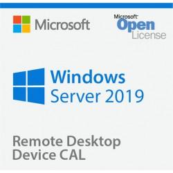 Win Rmt Dsktp Svcs CAL 2019 English MLP 5 Device CAL 6VC-03804