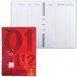 Журнал регистрации инструктажа по пожарной безопасности (18с1-50) (130168)