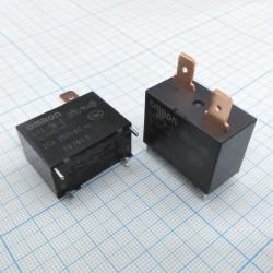 Реле электромагнитное DC 12в, 20а, SPST-NO, 30.5*16*23.5мм, Omron G4A-1A-E 12VDC