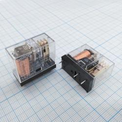 Реле электромагнитное DC 24в, 10а, SPDT, 29*13*25.5мм, Omron G2R-1 24VDC