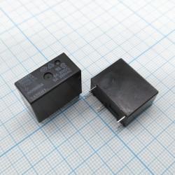 Реле электромагнитное DC 12в, 5а, SPDT, 20.3*10.3*15.8мм, Omron G5SB-14 12VDC