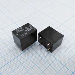 Реле электромагнитное DC 12в, 10а, SPDT, 22.5*16.5*19мм, Omron G5LE-14 12VDC