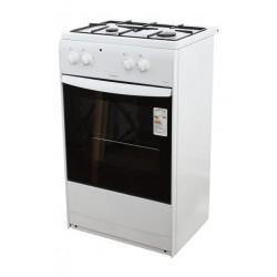 Плита газовая Darina S KM521 300 W White 2 конфорки газ, духовка 45л, 50х85х45, механ. управл.