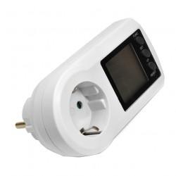 Ваттметр Robiton PM-2 белый, 3600Вт