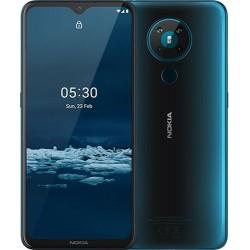 "Смартфон Nokia 5.3 4/64Gb Бирюзовый 2sim/6.55""/1600*720/4*2+4*1.8ГГц/4Gb/64Gb/mSD/13+2+5+2Мп/And10/4000mAh"