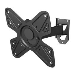 """Кронштейн VOBIX VX 4013B черный, для ТВ, наклонно-поворотный, 26-40"""", 60-243мм от стены"""