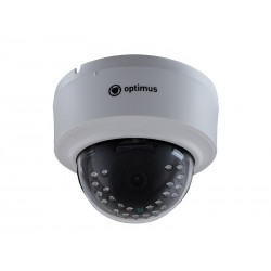 "IP Видеокамера Optimus IP-E022.1(3.6) V.2 (купольная,1/2.8"",ИК 20м,2.1MП 1080P ,3.6мм)"