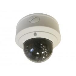 "IP Видеокамера Optimus IP-E042.1(2.8-12)PE (купольная,1/3"",ИК 30м,2.1MП 1920х1080 ,2.8-12мм,PoE)"