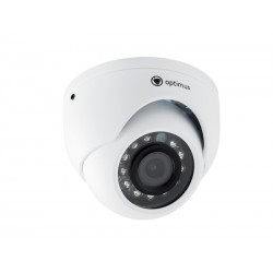 "IP Видеокамера Optimus IP-E052.1(3.6)A H.265 1/2.9"" 2,1 (Мп,CMOS SC2235P,ИК-фильтр,антиван-й корпус,IР66)"