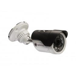 "Видеокамера Optimus AHD-M011.0(3.6)E цветная уличная, 1/4"", ИК 18м, 1Мп(720P), 3.6мм"