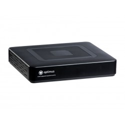 Цифровой гибридный видеорегистратор Optimus AHDR-2004HLE  Режим работы -DVR/HVR/NVR
