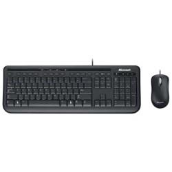 Комплект (клавиатура+мышь) USB Microsoft Wired 600 (3J2-00015) мембранная,Black