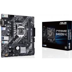 Материнская плата Asus PRIME B460M-K (Socket1200,B460,mATX,2DDR4,M.2,2PCI-E,VGA,DVI,PC2933)