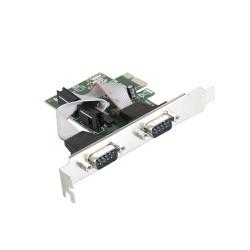 Контроллер PCI-E=>Com x2 ExeGate EXE-307 OEM