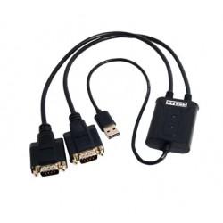 Контроллер USB=>Comx2 ST-Lab U700 кабель-адаптер