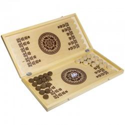 Игра настольная Нарды, Орловские шахматы, деревянные, с доской С-8/B-1