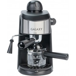 Кофеварка Galaxy GL 0753 Black (900Вт,0.24л,5 бар,рожковая,тип кофе: молотый)