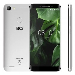 """Смартфон BQ BQ-5514L Strike Power 4G Серебряный 2sim/5.45""""/1440*720/4*1.3ГГц/1Gb/8Gb/mSD/8Мп/And8.1/5000mAh"""