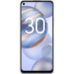 """Смартфон Honor 30S Серебристый 2sim/6.5""""/2400*1080/1*2.36+3*2.22+4*1.84ГГц/6Gb/128Gb/mSD/64+8"""