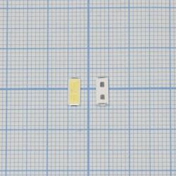 Светодиод 7030 3V 1W (2.8V-3.2V max280mA) для подсветки матриц LG Innotek LEMWS73V80LZ